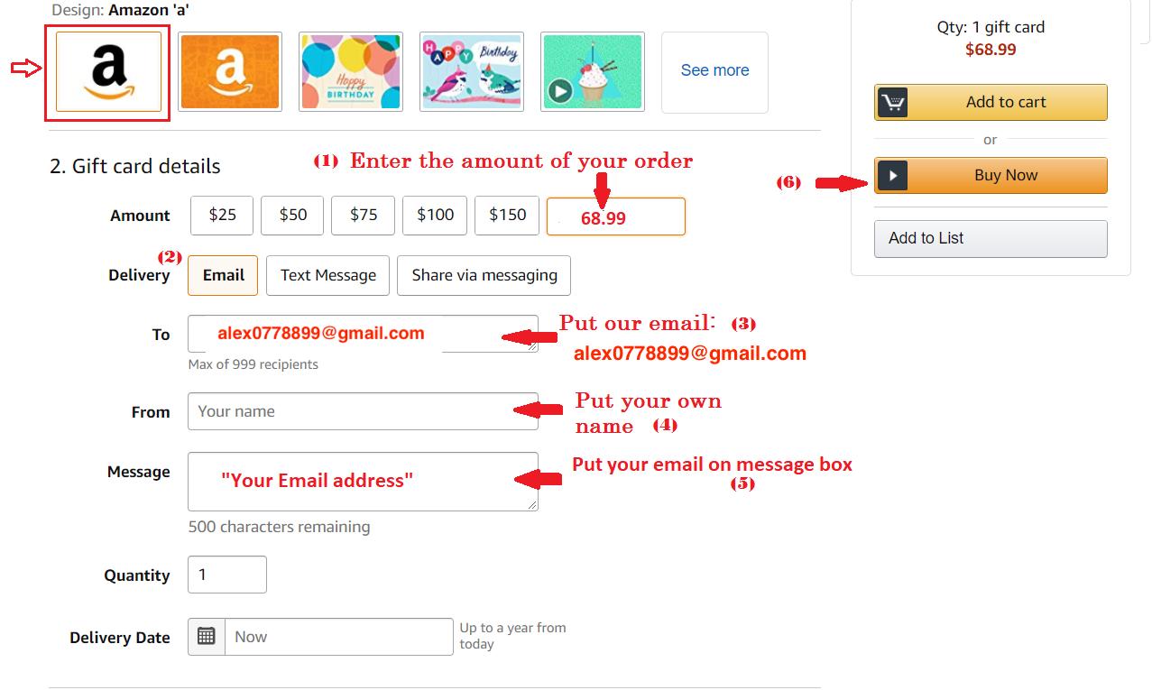 Buy Premium Key Via Amazon Gift Cards - FileSharingShop.Com