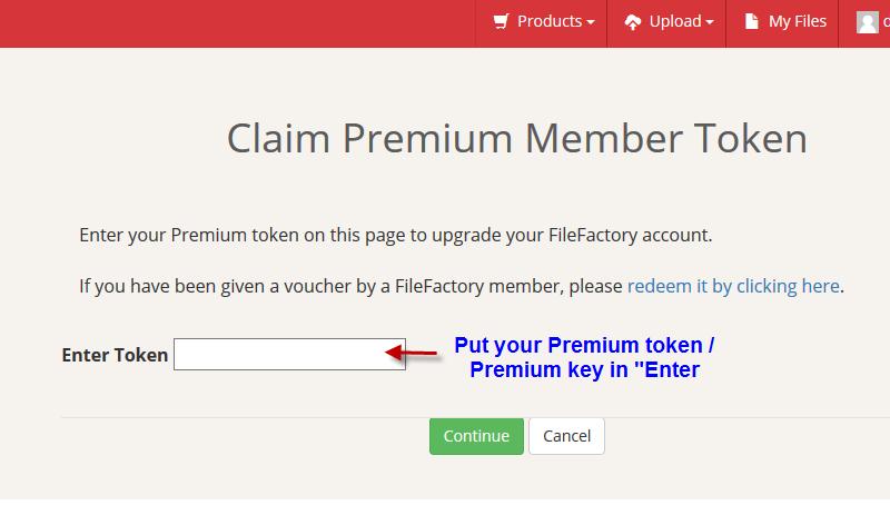 activate filefactory premium